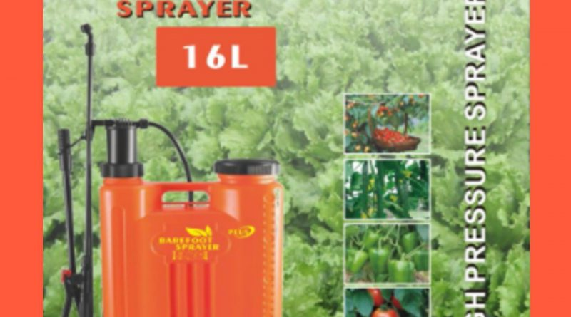 BareFoot Sprayer Plus (Knapsack Sprayer – Heavy Duty)