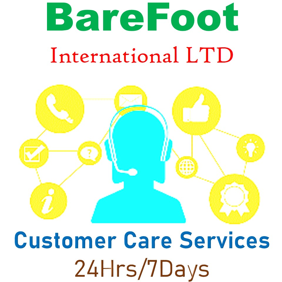 Welcome BareFoot Int'l Customer Care