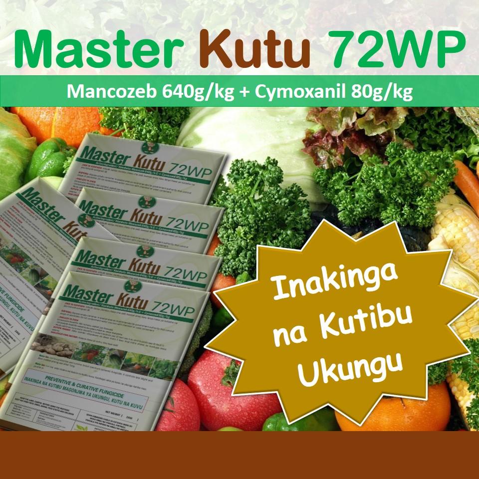 Master Kutu: Dawa ya kutibu na kukinga ukungu kwenye nyanya, vitunguu, tikiti, viazi, maharage, mboga mboga nakadhalika