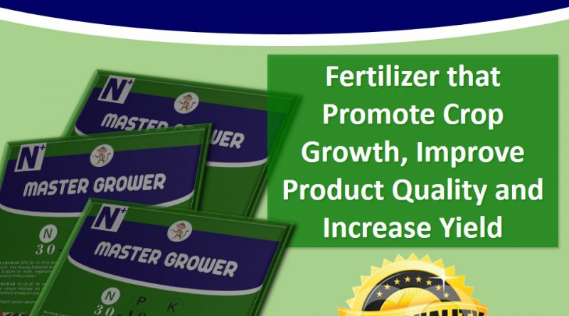 Master Grower, N:P:K 30:10:10: Fertilizer for boosting crop growth