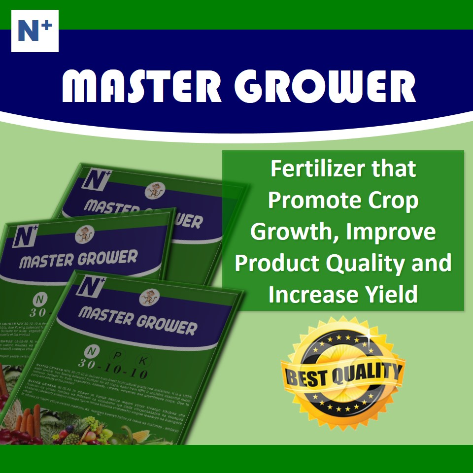 Master Grower, N:P:K 30:10:10: Fertilizer that promote crop growth and increase  yield