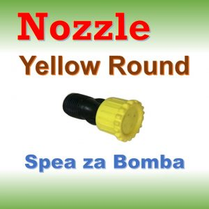 Nozzle yellow round