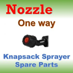 Nozzle One Way: Knapsack Sprayer Spare Parts