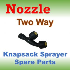 Nozzle Two Way: Knapsack Sprayer Spare Parts