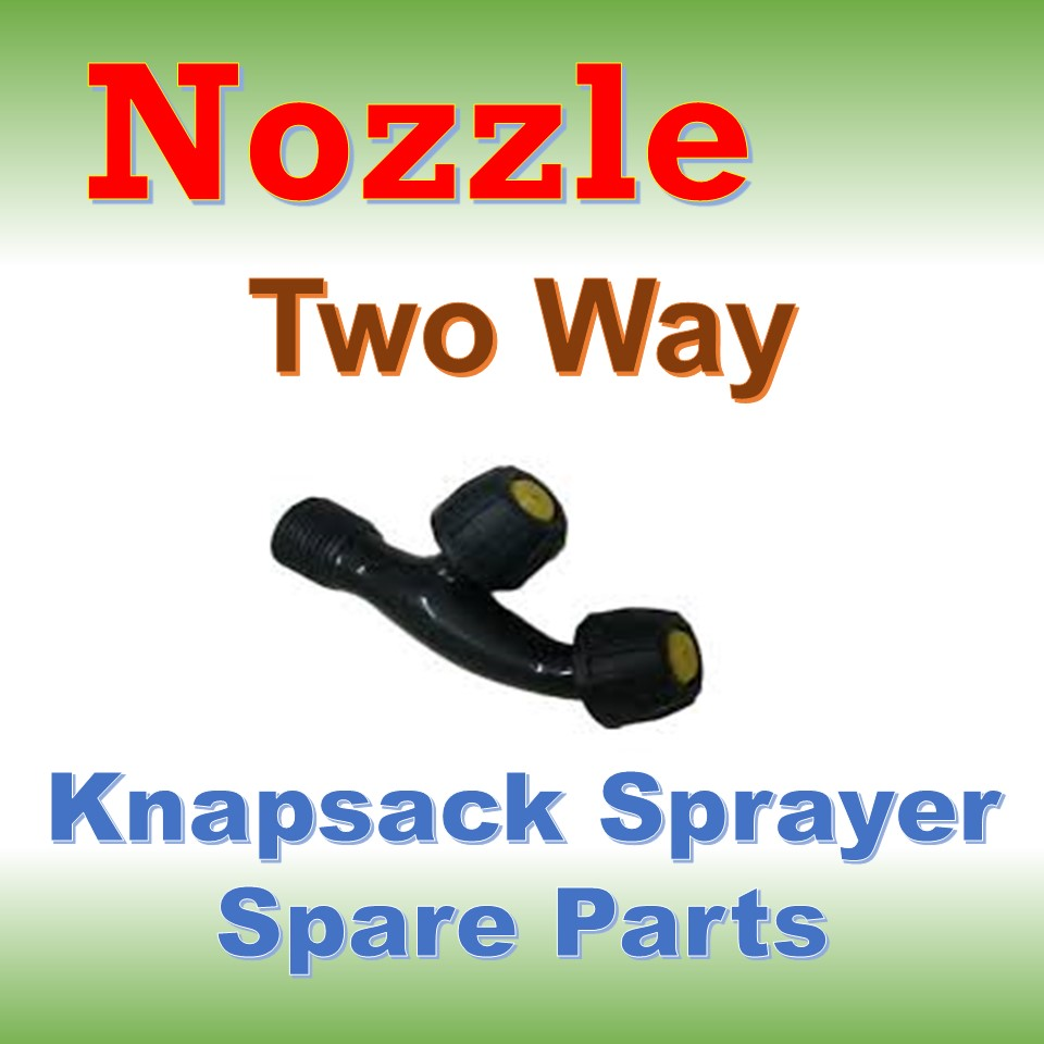 Nozzle Two Way (Knapsack Sprayer Spare Parts)